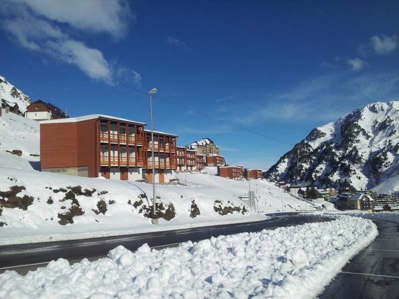 Vue extérieure de la location Location Appartement 78967 La Mongie