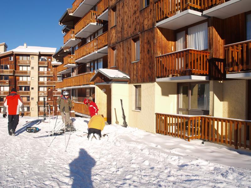 Vue extérieure de la location Location Studio 81105 La Plagne