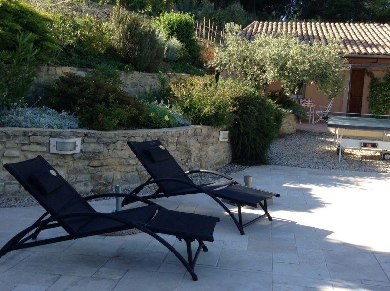 Jardin Location Villa 82681 Vaison la Romaine