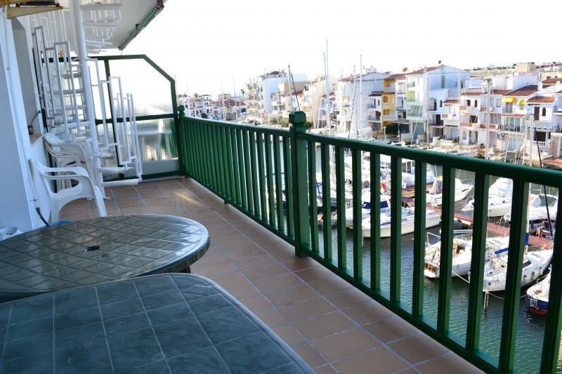 Vue du balcon Location Appartement 82724 Empuriabrava