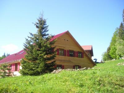 Vue ext�rieure de la location Location Chalet 89314 Les Rousses