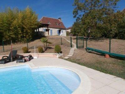 Piscine Location Maison 92831 Rocamadour