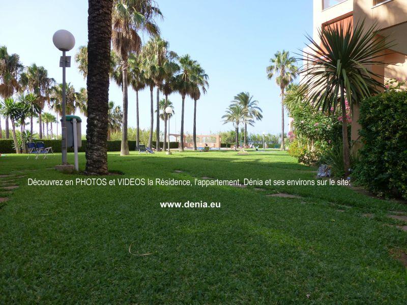 Jardin Location Appartement 101883 Dénia