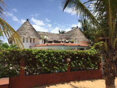 Vue ext�rieure de la location Location Villa 102485 Saly