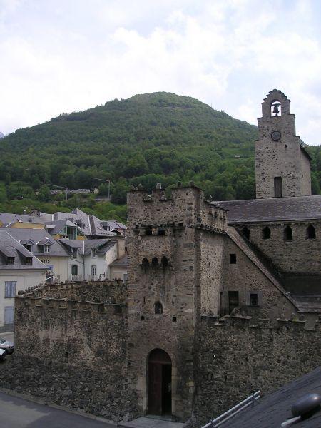 Vue depuis la location Location Appartement 106348 Luz Saint Sauveur