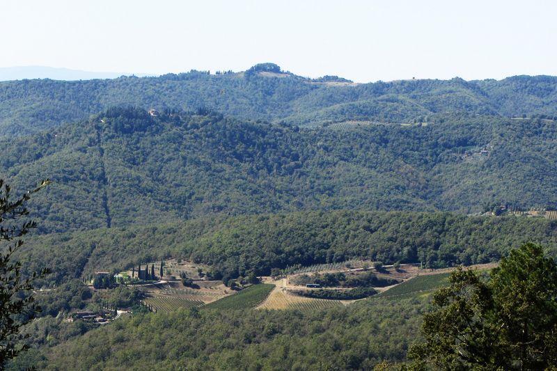 Vue depuis la location Location Gite 109624 Sienne