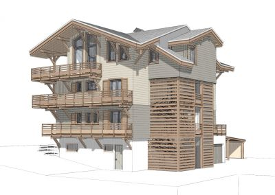 Plan de la location Location Appartement 110961 Morzine