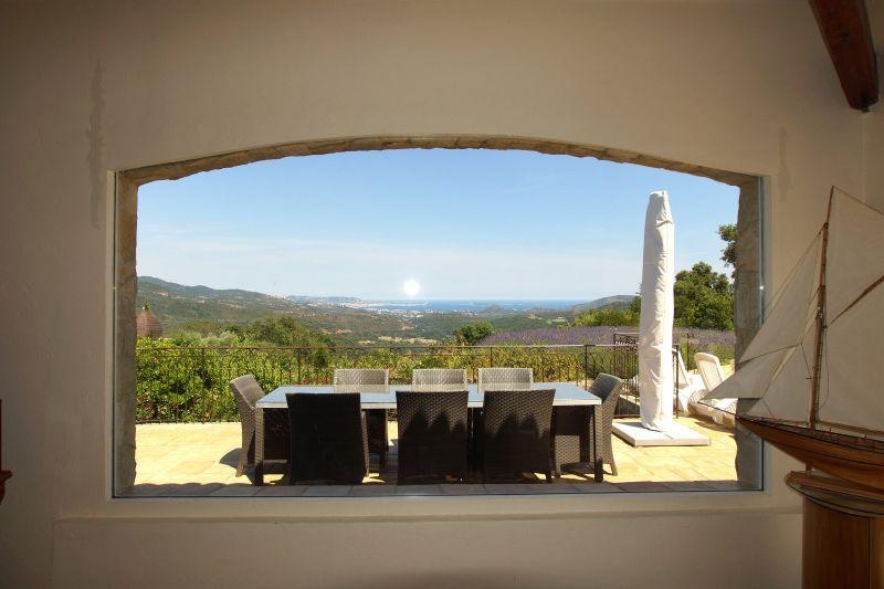 Vue depuis la location Location Villa 111352 Fréjus