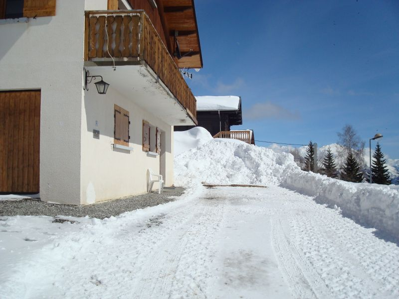 Vue extérieure de la location Location Appartement 111695 La Toussuire