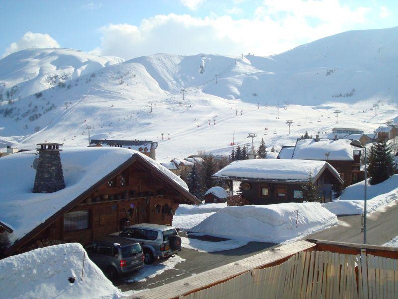 Vue depuis la location Location Appartement 111695 La Toussuire