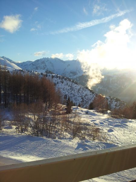 Vue du balcon Location Appartement 111769 Alpe d'Huez