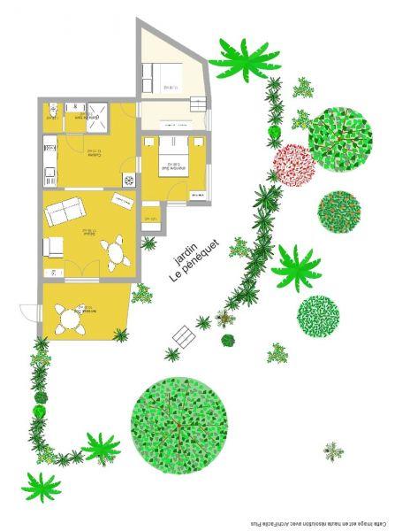 Plan de la location Location Gite 113958 Hyères