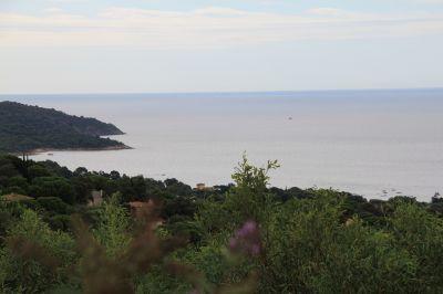 Vue de la terrasse Location Villa 115509 Saint Tropez