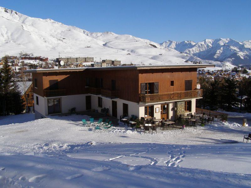 Vue extérieure de la location Location Appartement 116507 La Toussuire