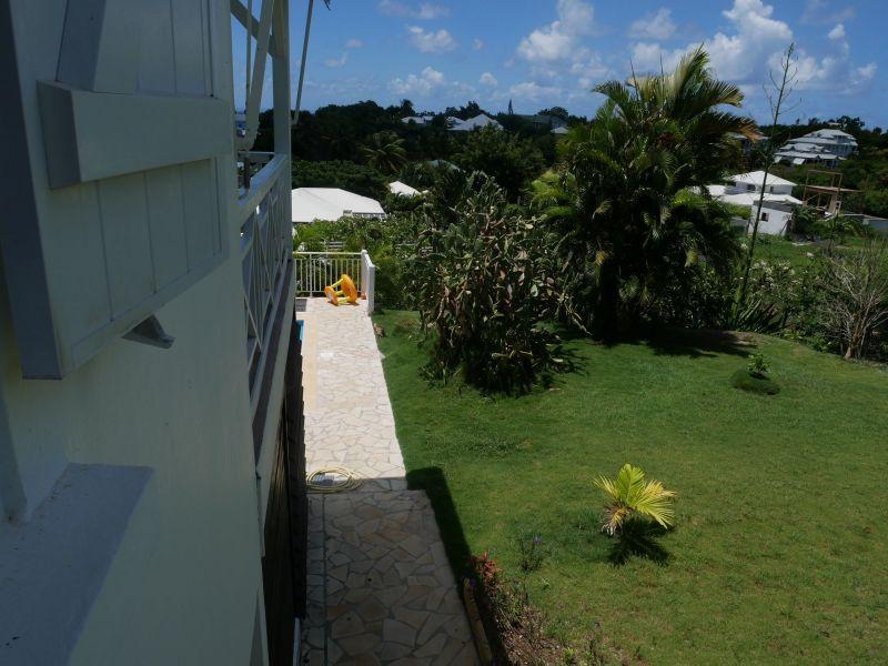 Vue depuis la location Location Villa 116772 Saint Francois