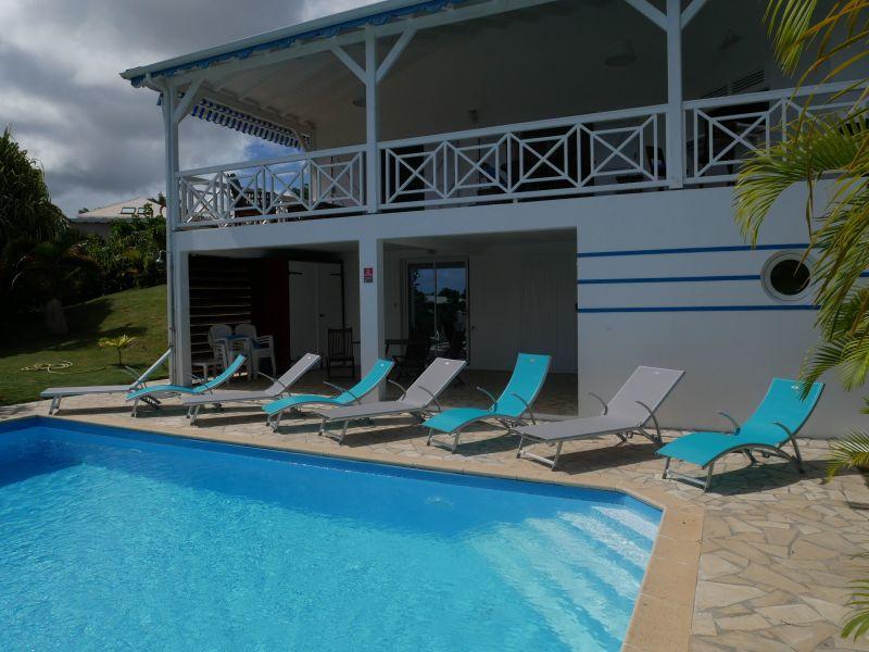 Vue extérieure de la location Location Villa 116772 Saint Francois