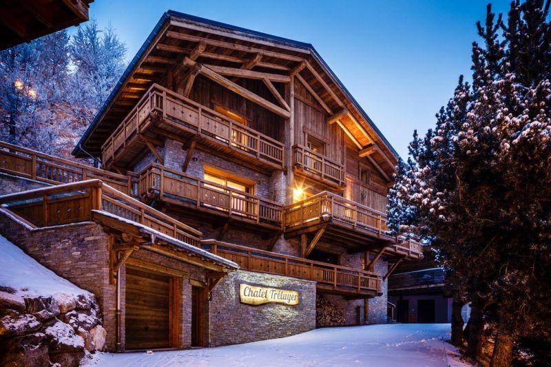 Vue extérieure de la location Location Chalet 116881 Les 2 Alpes