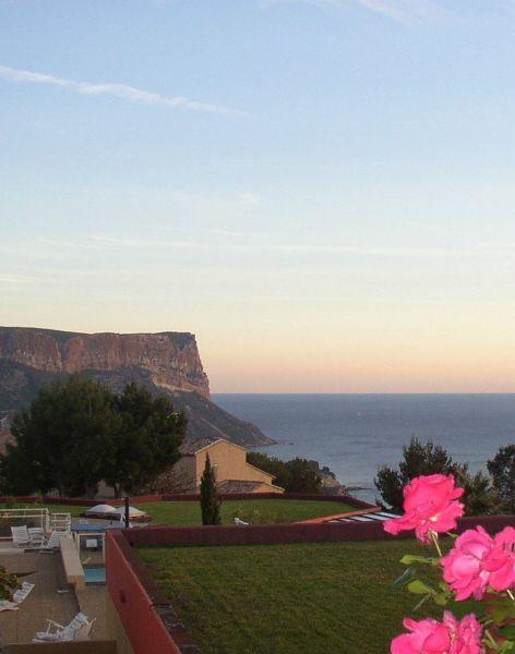 Vue de la terrasse Location Villa 118042 Cassis