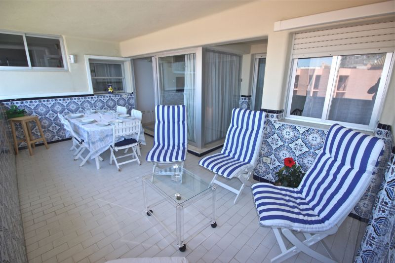 Vue de la terrasse Location Appartement 118448 Marbella