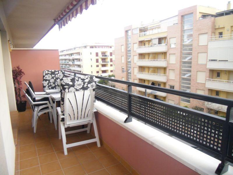 Vue de la terrasse Location Appartement 119916 Torre del Mar