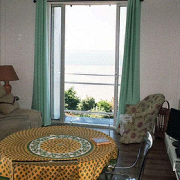 Vue depuis la location Location Appartement 67305 Deauville