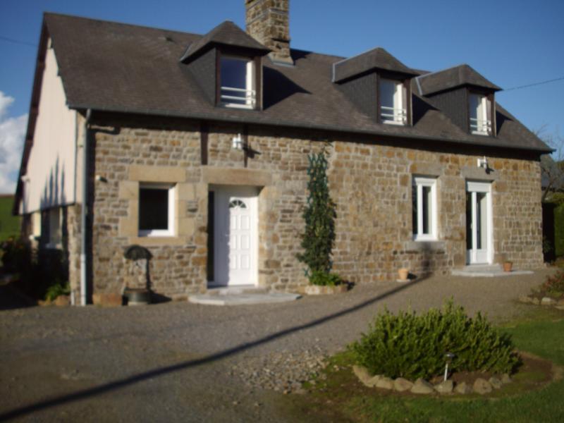 Vue extérieure de la location Location Gite 68684 Mont Saint Michel