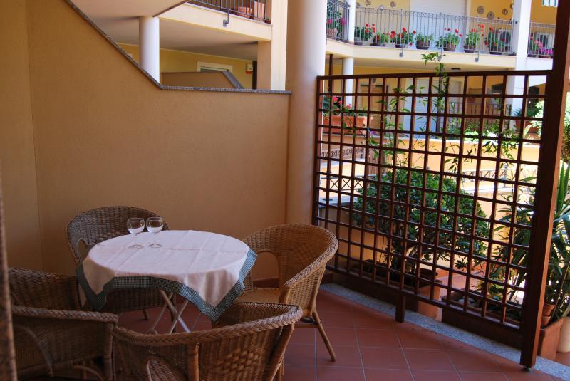 Vue du balcon Location Appartement 69224 Alghero