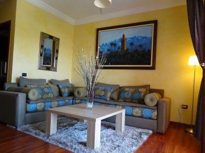 Salon Location Appartement 70577 Marrakech