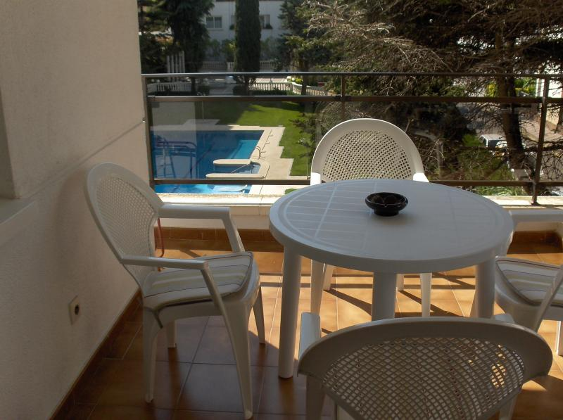 Vue de la terrasse Location Appartement 82806 Lloret de Mar