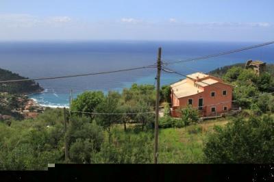 Vue depuis la location Location Maison 83335 Bonassola