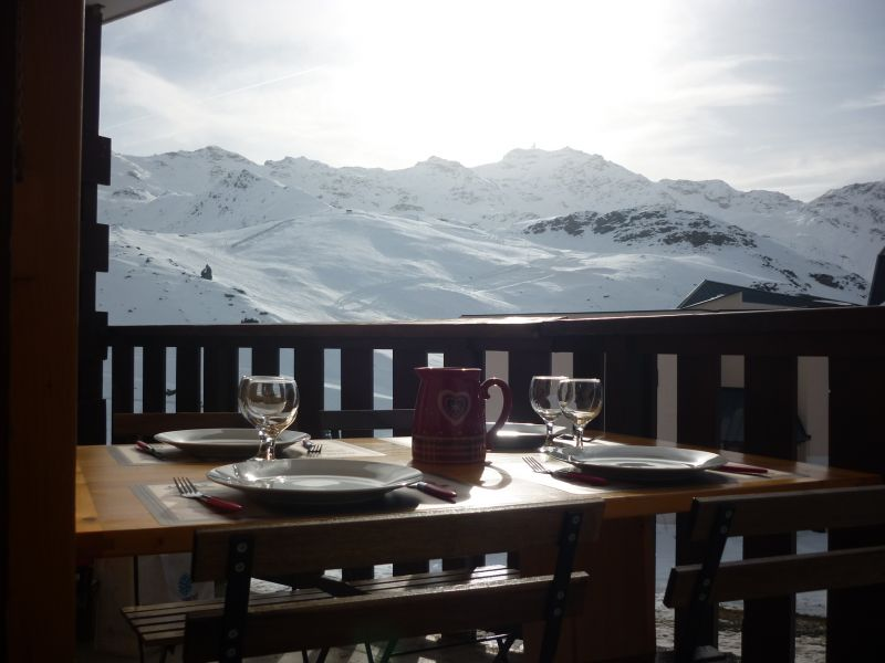 Vue du balcon Location Appartement 92048 Val Thorens