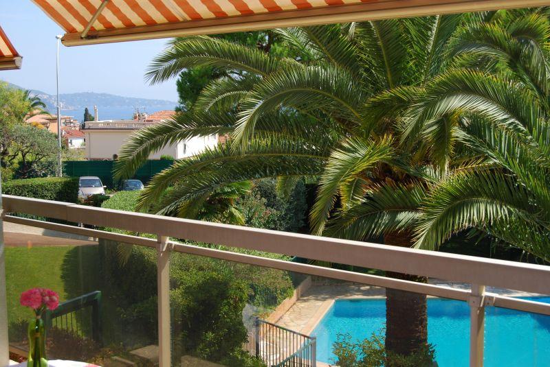 Vue de la terrasse Location Appartement 92095 Nice