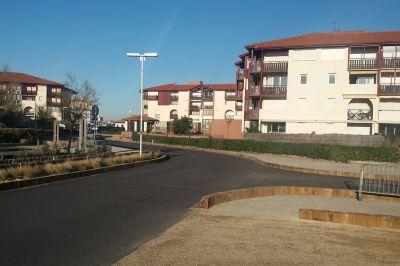 Vue extérieure de la location Location Appartement 94324 Hossegor
