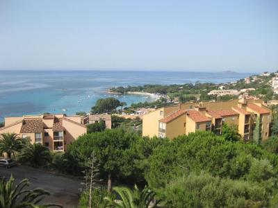 Vue de la terrasse Location Appartement 96408 Ajaccio