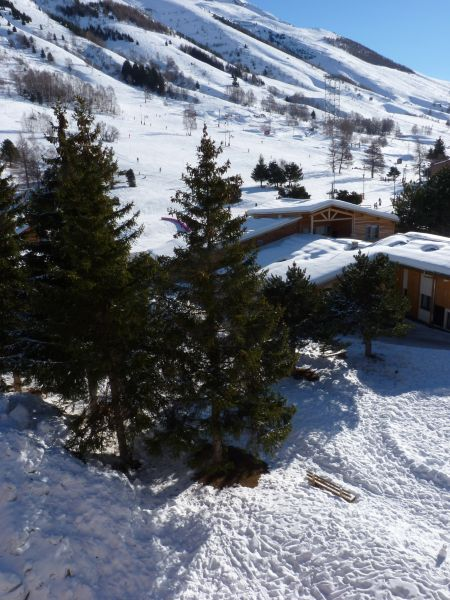 Vue du balcon Location Appartement 101179 Les 2 Alpes