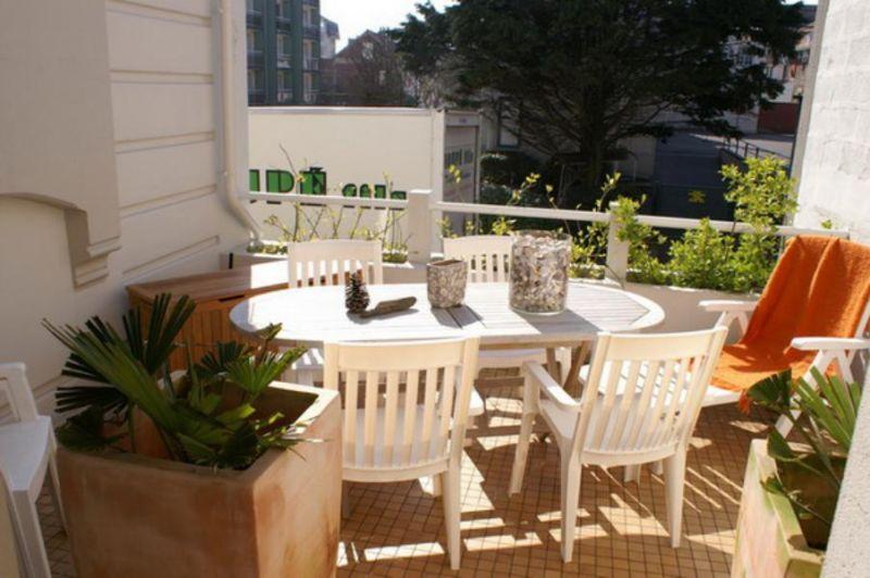 Vue de la terrasse Location Appartement 101891 Le Touquet