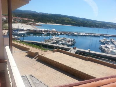 Vue depuis la location Location Appartement 102560 Isola Rossa