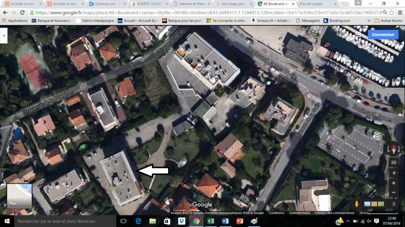 Vue autre Location Appartement 105595 Antibes
