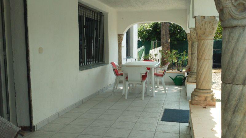 Vue de la terrasse Location Maison 106219 Rosas