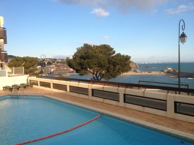 Vue de la terrasse Location Appartement 107621 Collioure