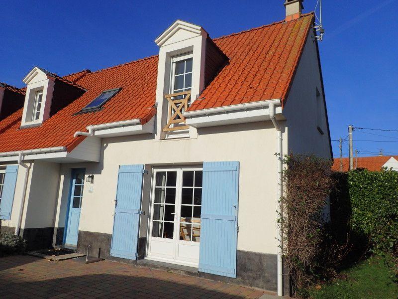 Vue extérieure de la location Location Maison 108004 Wissant