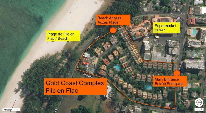 Plan de la location Location Maison 111668 Flic-en-Flac