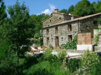Vue extérieure de la location Location Maison 113268 Ceret