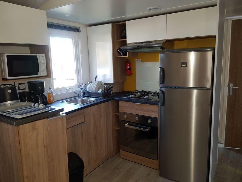 Coin cuisine Location Mobil-home 114302 Lit-et-Mixe