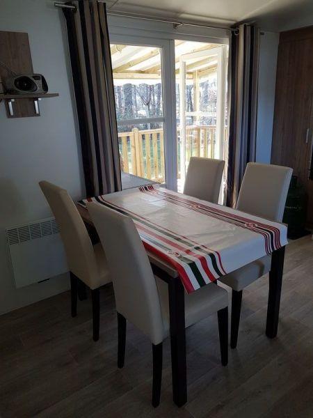 Salle à manger Location Mobil-home 114302 Lit-et-Mixe