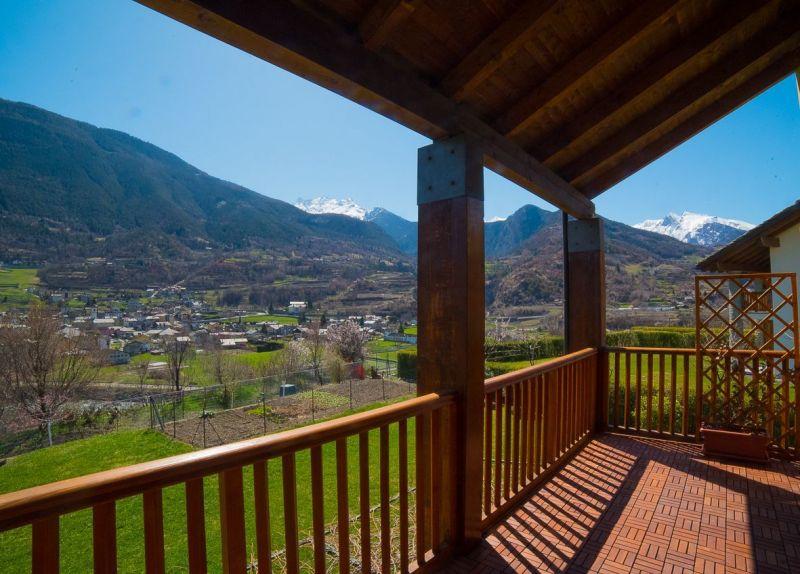 Vue de la terrasse Location Appartement 115958 Saint Pierre