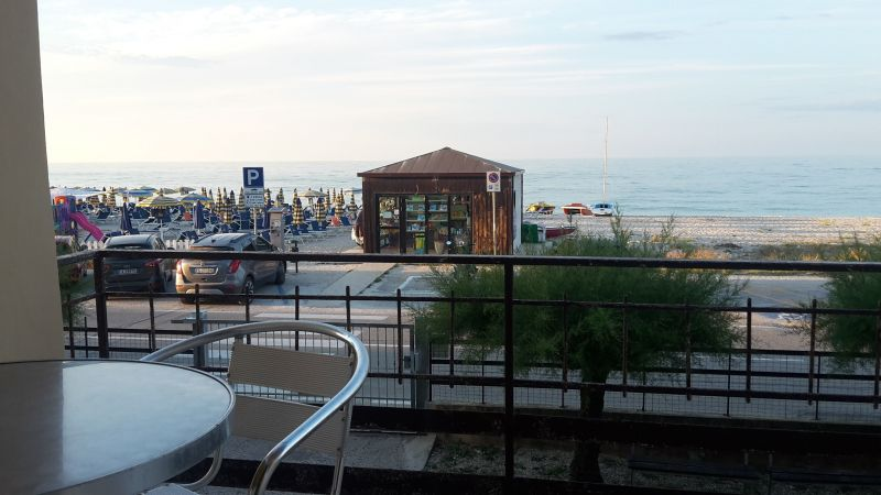 Vue de la terrasse Location Appartement 116452 Senigallia