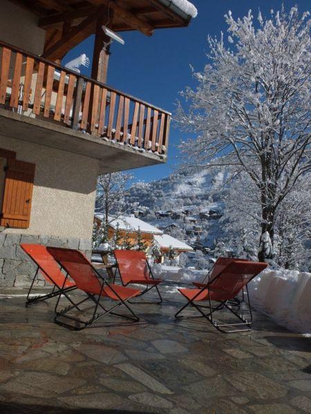 Vue de la terrasse Location Gite 117285 Valmeinier