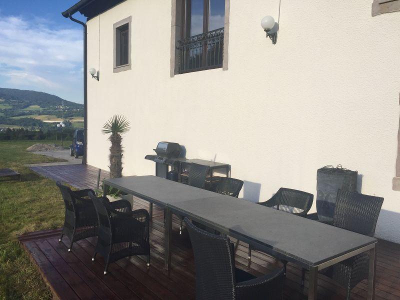 Vue de la terrasse Location Villa 117375 Annecy
