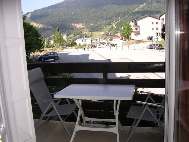 Vue du balcon Location Appartement 117504 Les Angles